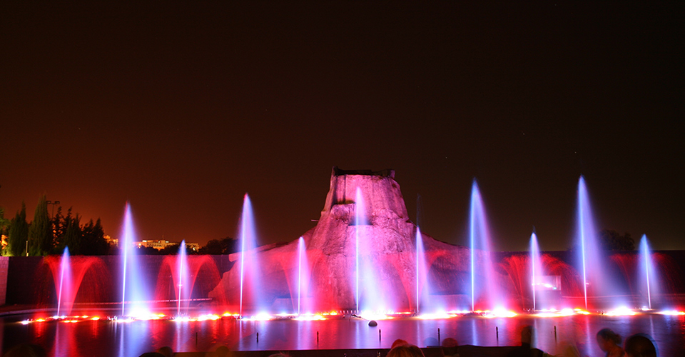 Fountain show - Nordic Fountains AB