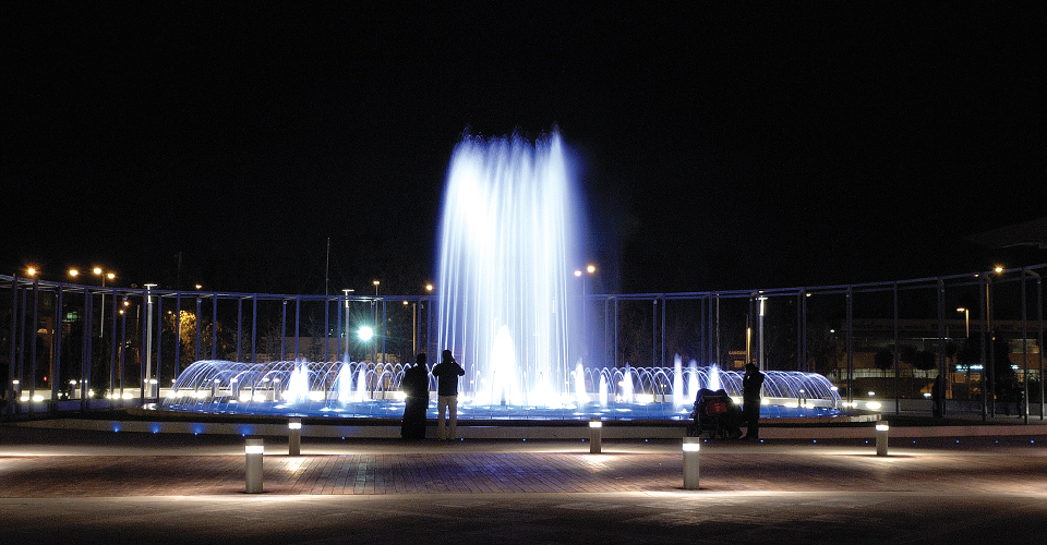 Fountain show 4 - Nordic Fountains AB